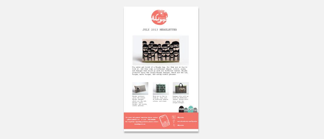 Fyunka--newsletter
