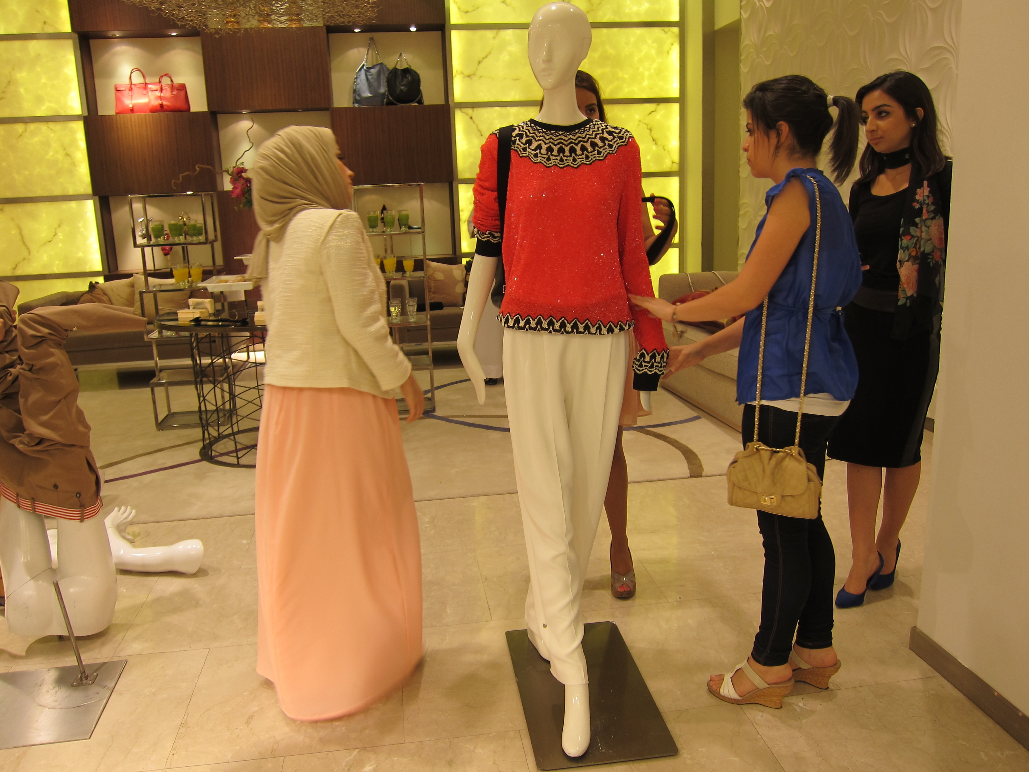 Styling our Mannequin
