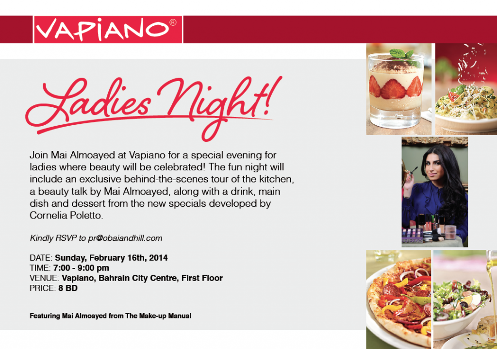 Vapiano Ladies Night