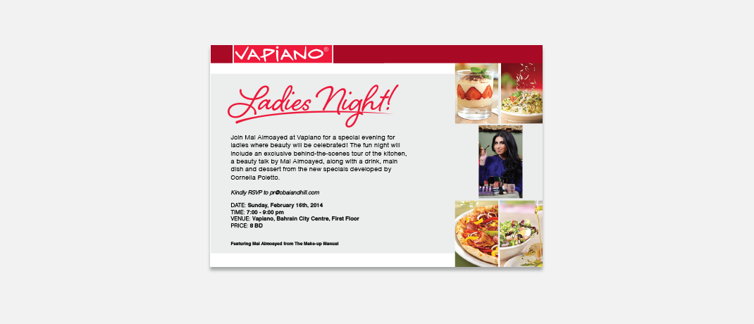 vapiano--ladies-night-invitation